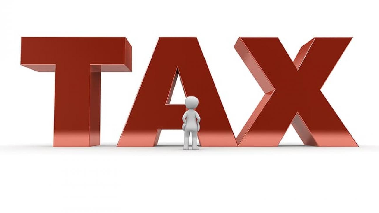 red-tax-text-digital-wallpaper